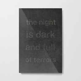 """Night Terrors"" Print Metal Print"