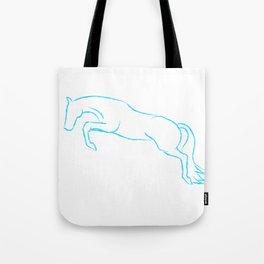 Hunter Outline - Blue Tote Bag