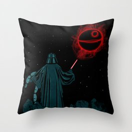 The Darth Lord Throw Pillow
