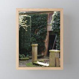 Enchanted Garden House Framed Mini Art Print