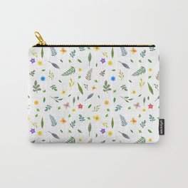 Flowers and leaves Carry-All Pouch