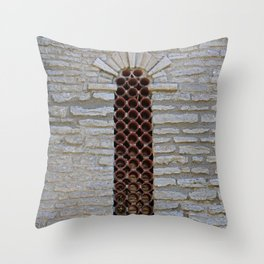 Clandestine Cavern Throw Pillow