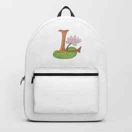 L is for Lotus Backpack