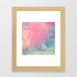 Rose and Serenity Framed Art Print