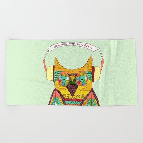 The Owl rustic song Beach Towel