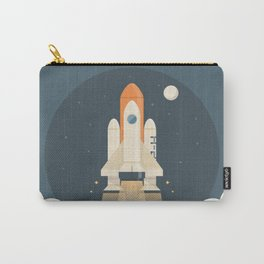 Spaceship Launch Carry-All Pouch