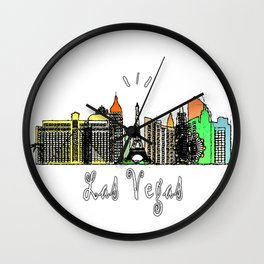 Las Vegas, Nevada Wall Clock