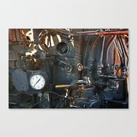 steam punk Canvas Prints featuring Steam Punk by Clipper and Nana Carrillo