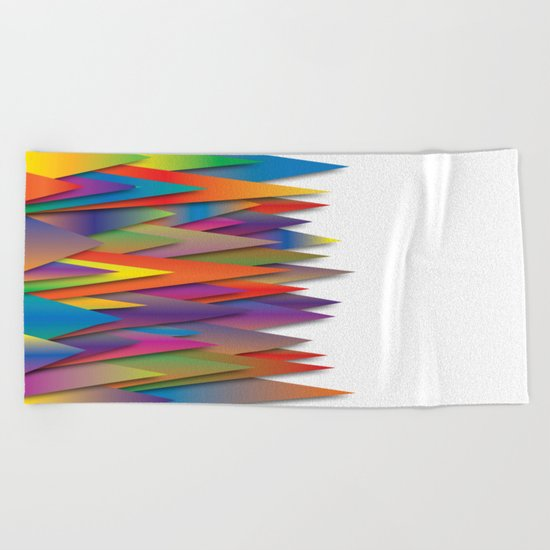 Mountains Of Harmoni Beach Towel