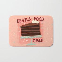 Devil's Food Cake An All American Classic Dessert Bath Mat