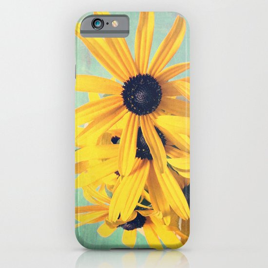 Sweet Yellow Flowers iPhone & iPod Case