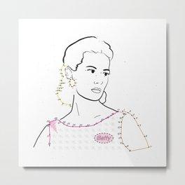 Betty Draper Metal Print