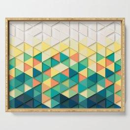 geometric 02 Serving Tray