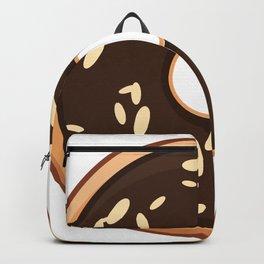 Almond Chunk Doughnut / Donut Backpack