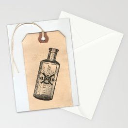 Old But Gold Bottle Stamp Hang Tag  Stationery Cards