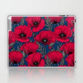 Night poppy garden  Laptop & iPad Skin
