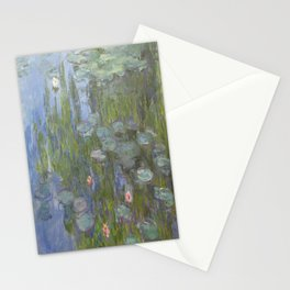 Claude Monet's Water Lilies Stationery Cards