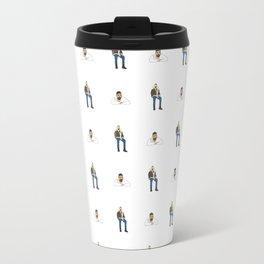 Drake Views Pattern Travel Mug