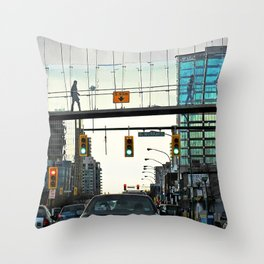 Over to the Other Side Throw Pillow