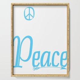Peace Gift idea Harmony Reconciliation Serving Tray