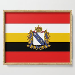 Flag of Kursk Serving Tray