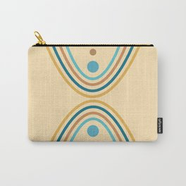 Parabolic Hourglass 03 - Minimal Geometric Abstract Carry-All Pouch