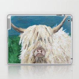 A Sweet Shaggy Highland Coo Laptop & iPad Skin