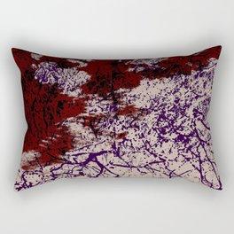 Guluga - Abstract Colorful Batik Camouflage Tie-Dye Style Pattern Rectangular Pillow