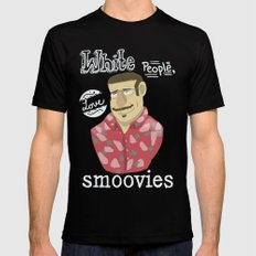 why watch (workaholics) Black Mens Fitted Tee MEDIUM