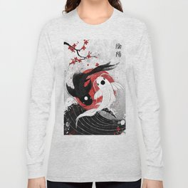 Koi fish - Yin Yang Long Sleeve T-shirt