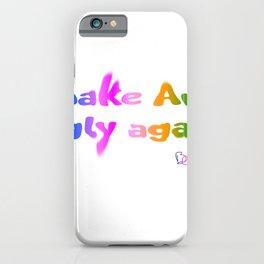 Make Art Ugly Again iPhone Case
