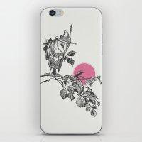 hunter iPhone & iPod Skins featuring Hunter by Zeke Tucker