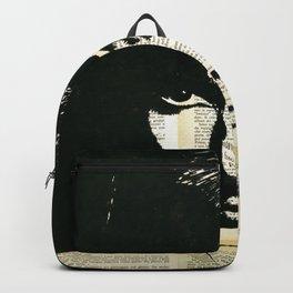 Audey Hepburn portrait Backpack