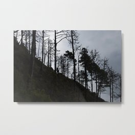 Adventure with Shadows Metal Print