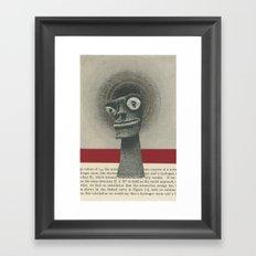 We Canonized Our Demons Framed Art Print