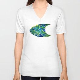 Fish Watercolor II Unisex V-Neck