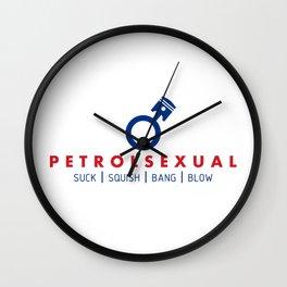 PETROLSEXUAL v5 HQvector Wall Clock