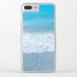 On The Beach Clear iPhone Case