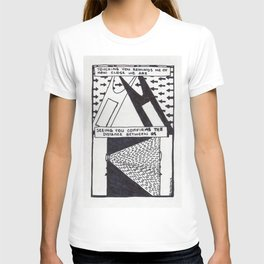 The Distance Between Us / 1995: The Booth Philosopher Series T-shirt
