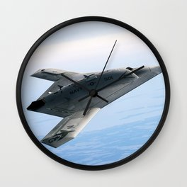 Northrop Grumman Stealth Fighter Wall Clock