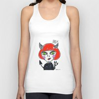 evil Tank Tops featuring Evil by Amy Lee