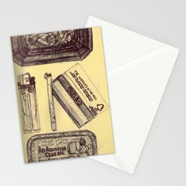 Dirty Habits Stationery Cards