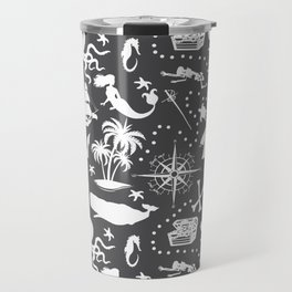 High Seas Adventure // Charcoal Travel Mug