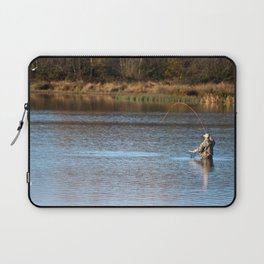 Gone Fishing 2 Laptop Sleeve