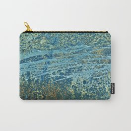 Rustic Pattern Carry-All Pouch