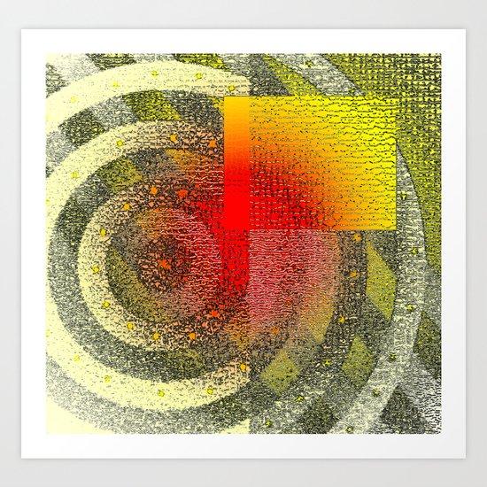 Orange #56 Art Print