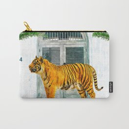 94 Tropical #painting #wildlife Carry-All Pouch
