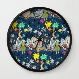 starlight luau Wall Clock