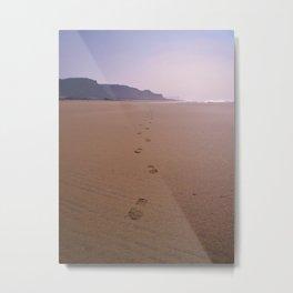 THE WHOLE BEACH TO MYSELF Metal Print