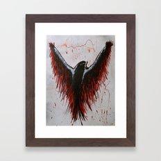 Soaring, Wishing, Thinking Framed Art Print